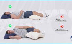 Conozca las posturas adecuadas para dormir cuidando tu columna